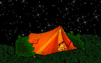 Tent and stars clipart freeuse download Free Camping Gifs - Camping Animations - Clipart freeuse download