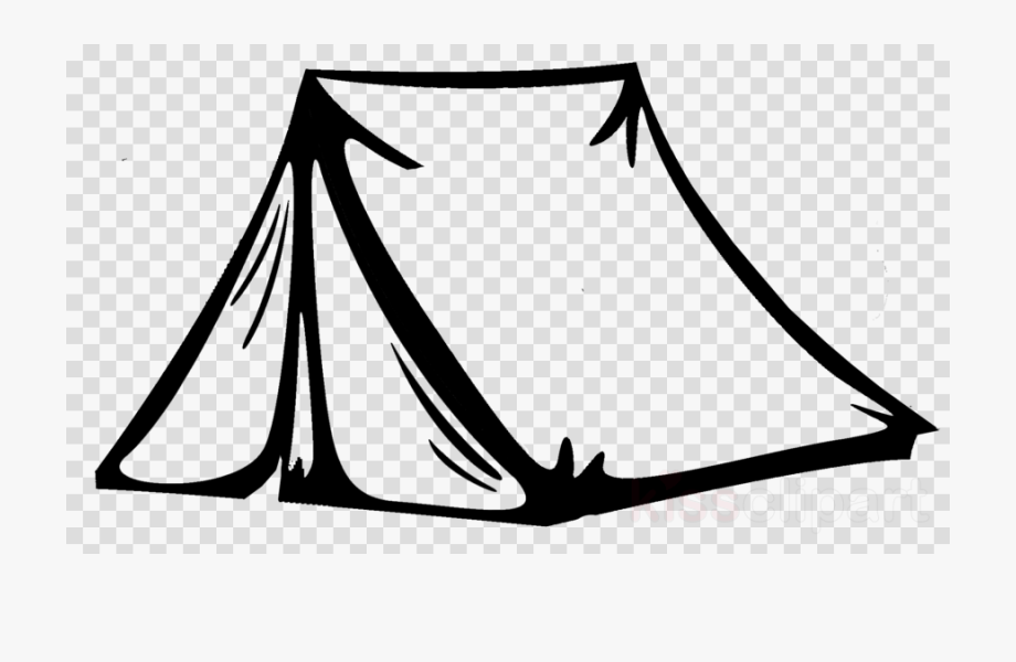 White clipart tent png black and white library Tent Clipart White - Tent Png Black And White #1384286 ... png black and white library
