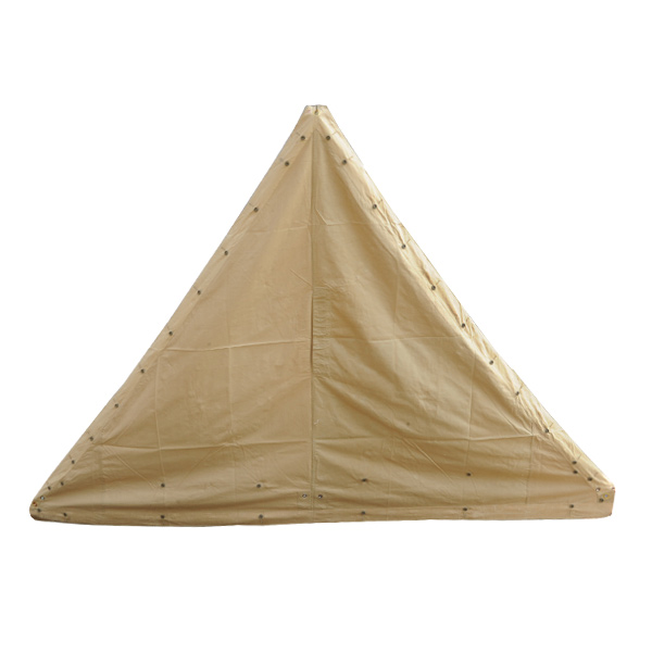 Tent tarp clipart banner library stock Emission products tent sheet triangle khaki France army tent tarp camping  tent army disposal sports outdoor military hobby goods sale banner library stock
