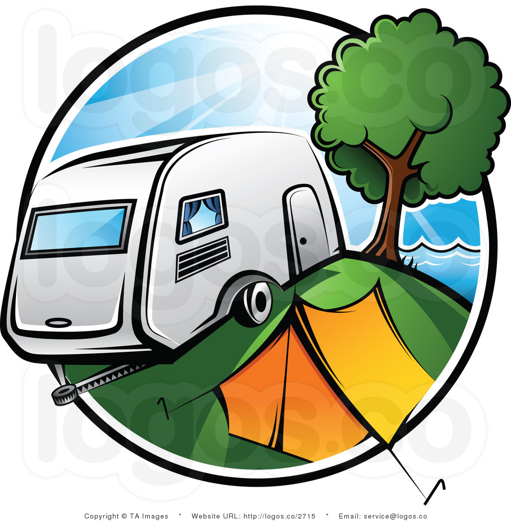 Tent trailer camping on lake clipart jpg free Rv Camping Clipart | Free download best Rv Camping Clipart ... jpg free