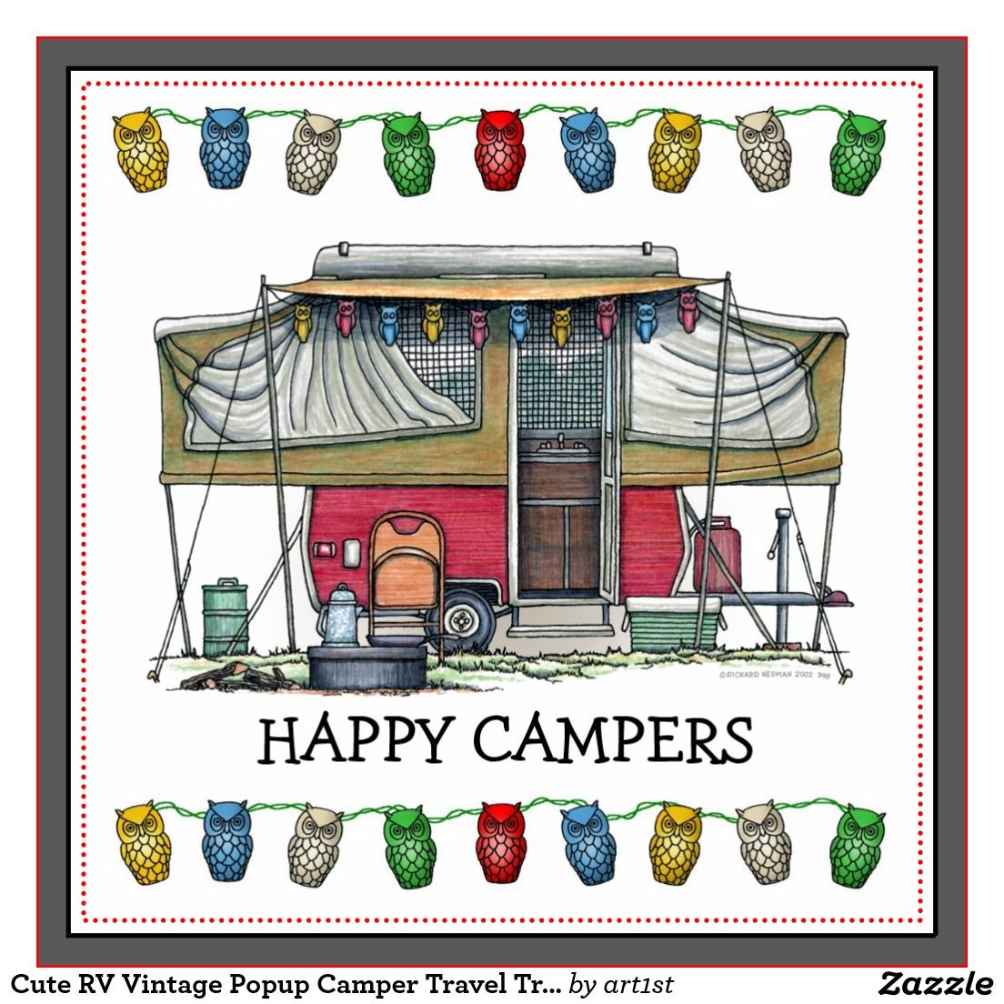 Tent trailer camping on lake clipart vector free library camping with pop up camper clip art - Google Search | peace ... vector free library