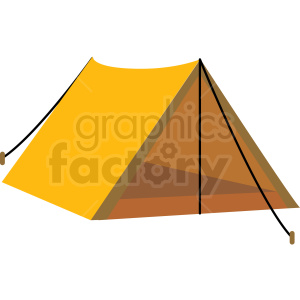 Tent vector clipart clip free stock old style camping tent vector clipart . Royalty-free clipart # 409590 clip free stock