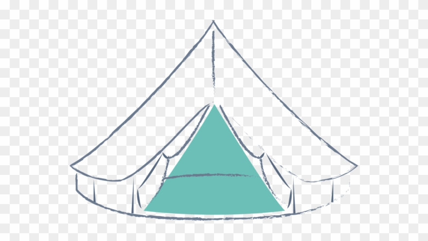 Tent vector clipart jpg free Tent Clipart Bell Tent - Bell Tent Vector - Png Download ... jpg free