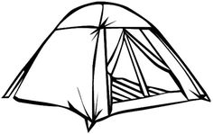 Tents black and white clipart banner library download Tent paintings search result at PaintingValley.com banner library download