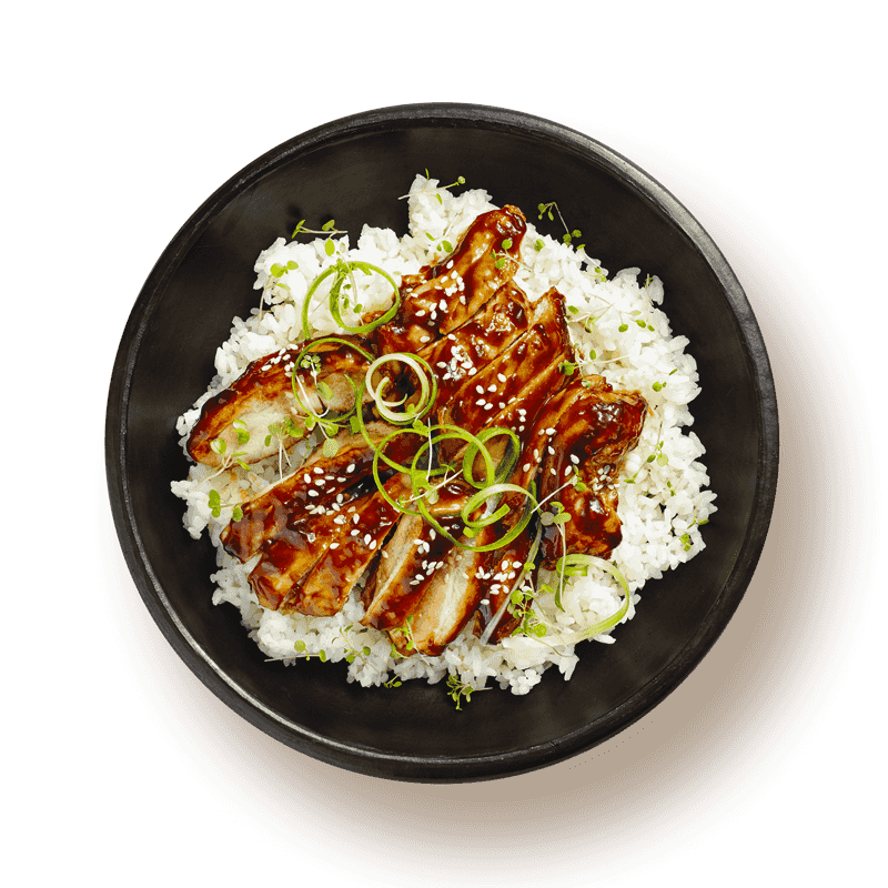 Teriyaki chicken asian bowl clipart graphic free Teriyaki Chicken | Passage Foods graphic free