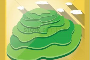 Terracing clipart graphic Banaue rice terraces clipart 5 » Clipart Station graphic