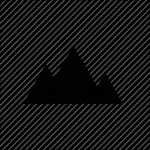 Terrain icon clipart vector black and white library Black Triangle clipart - Triangle, Line, Font, transparent ... vector black and white library
