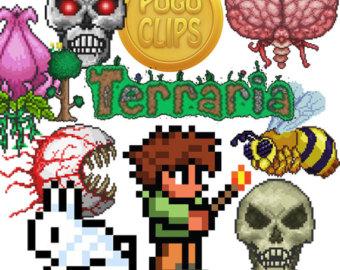 Terraria hq cliparts image black and white stock Free Terraria Cliparts, Download Free Clip Art, Free Clip ... image black and white stock