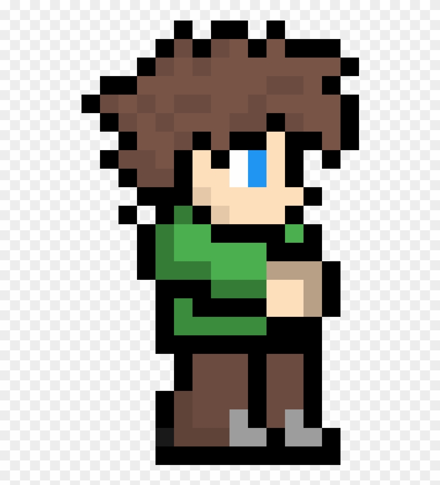 Terraria hq cliparts jpg library download Terraria - Terraria Character Pixel Art Clipart (#3619385 ... jpg library download