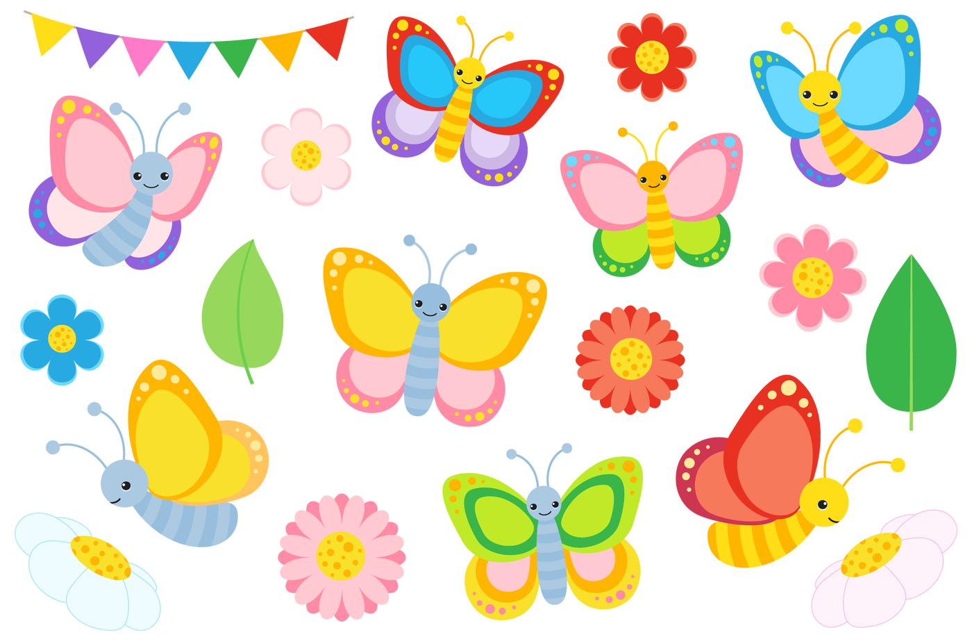 Terrorist turkey clipart banner freeuse download Colourful Butterfly Clipart and Vectors by La Boutique Dei Colori ... banner freeuse download