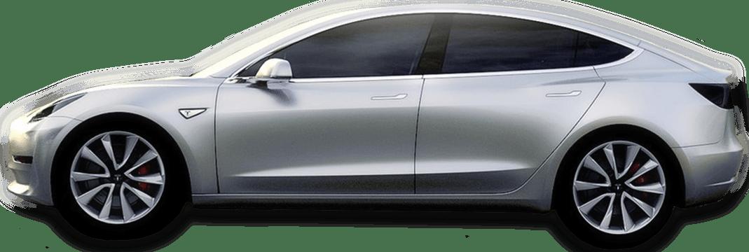 Tesla car clipart image free download Tesla Model 3 Grey Side View transparent PNG - StickPNG image free download