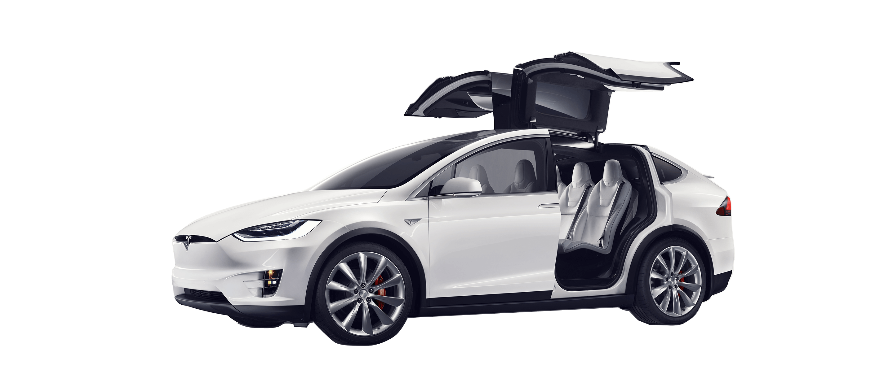 Tesla car clipart vector free library Tesla Model X transparent PNG - StickPNG vector free library