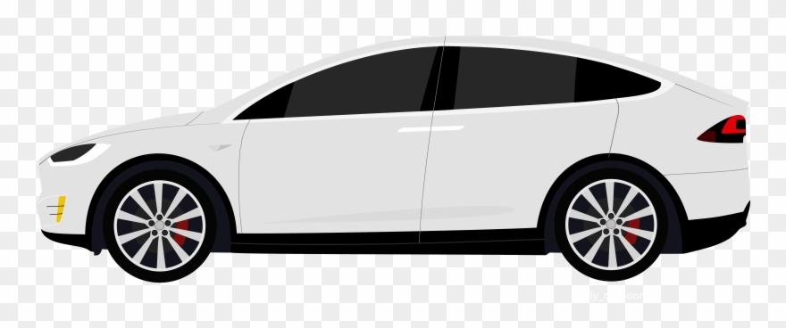 Teslas clipart clip art transparent stock Clipart Cars Suv - Tesla Model X Clipart - Png Download ... clip art transparent stock