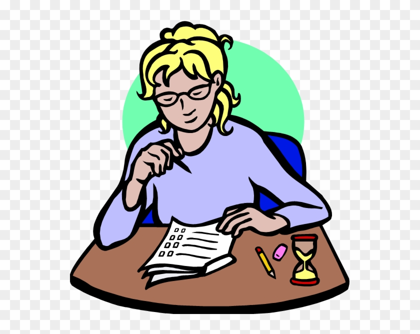 Test taking clipart picture freeuse download Exam Writing Clip Art Clipart - Taking Test Clipart, HD Png ... picture freeuse download