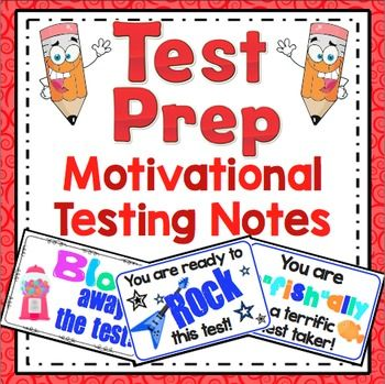 Test motivation clipart royalty free stock Test Prep: Motivational Testing Notes FREEBIE | School Misc ... royalty free stock