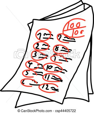 Test paper clipart image free stock Test paper clipart » Clipart Station image free stock
