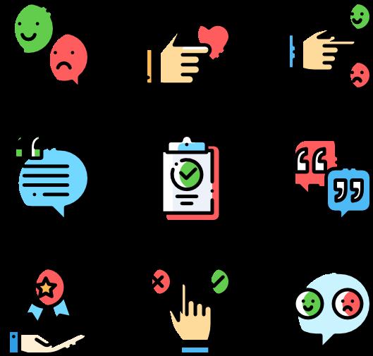 Testimonials icon clipart graphic royalty free stock Feedback And Testimonials - Web Design Icons Clipart - Full ... graphic royalty free stock