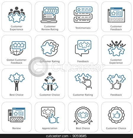 Testimonials icon clipart clipart transparent stock Simple Set of Testimonials Related Vector Icons stock vector clipart transparent stock