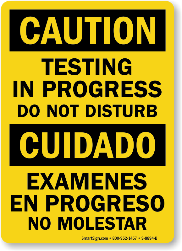 Testing in progress clipart clipart free stock Warning Sign clipart - Text, Yellow, Font, transparent clip art clipart free stock