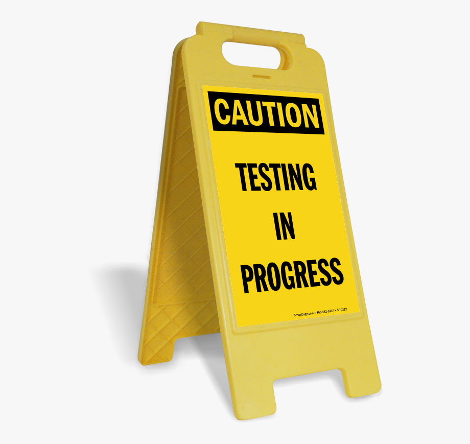 Testing in progress clipart banner freeuse library Testing In Progress Signs Tags Zoom Price Ⓒ - Slippery When ... banner freeuse library