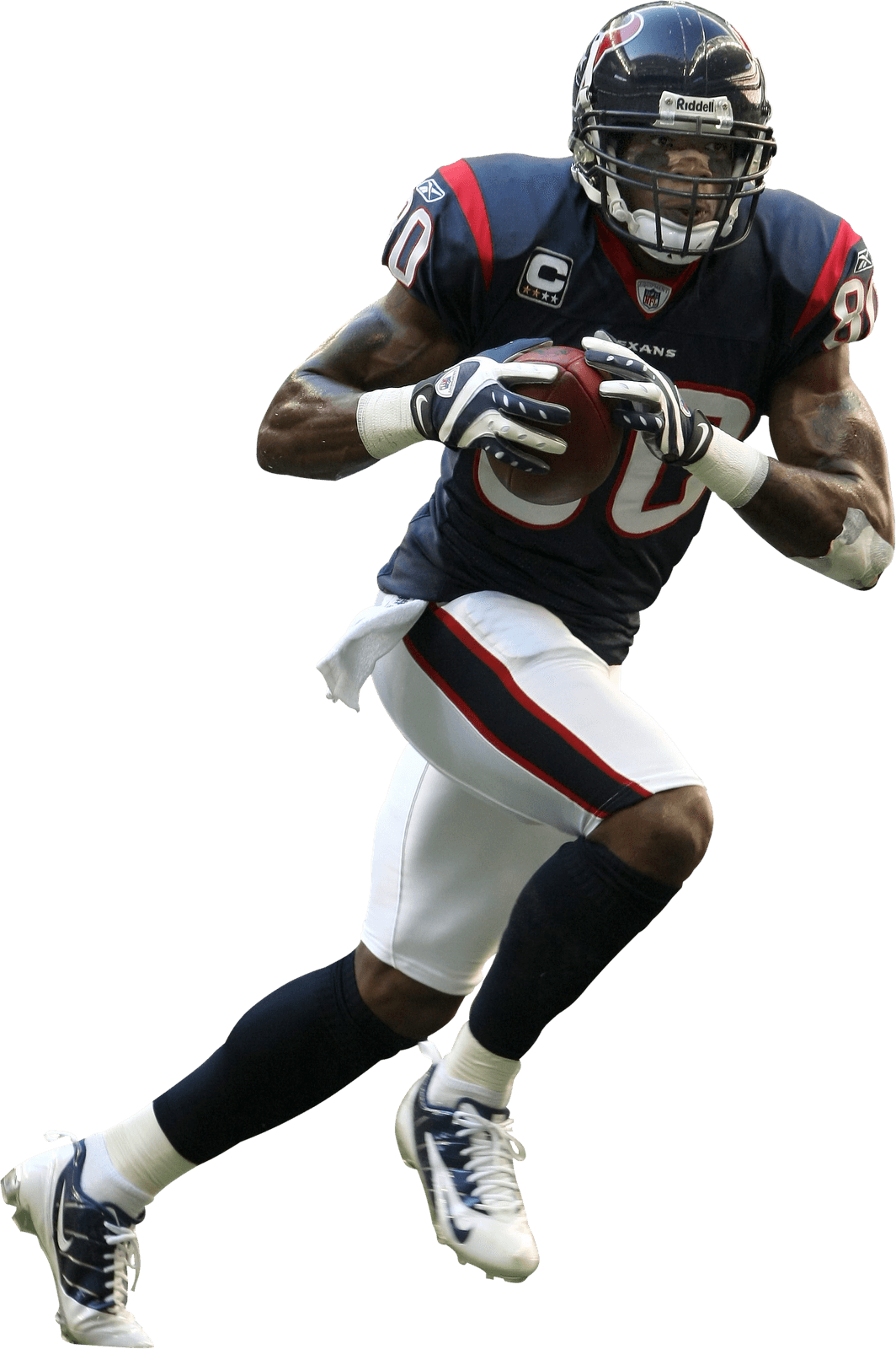 Texans football clipart black and white download Houston Texans Player transparent PNG - StickPNG black and white download