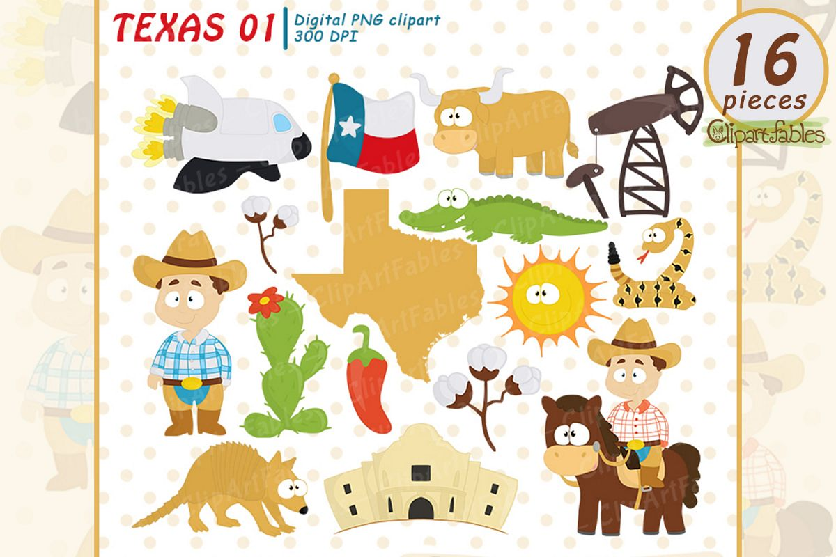 Texas clipart png free stock TEXAS State clipart, Cute Texas graphic, Texas map - INSTANT png free stock