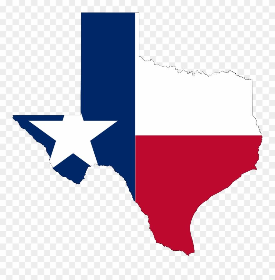 Texas clipart clip transparent download Title - - Flag Map Of Texas Clipart (#593591) - PinClipart clip transparent download