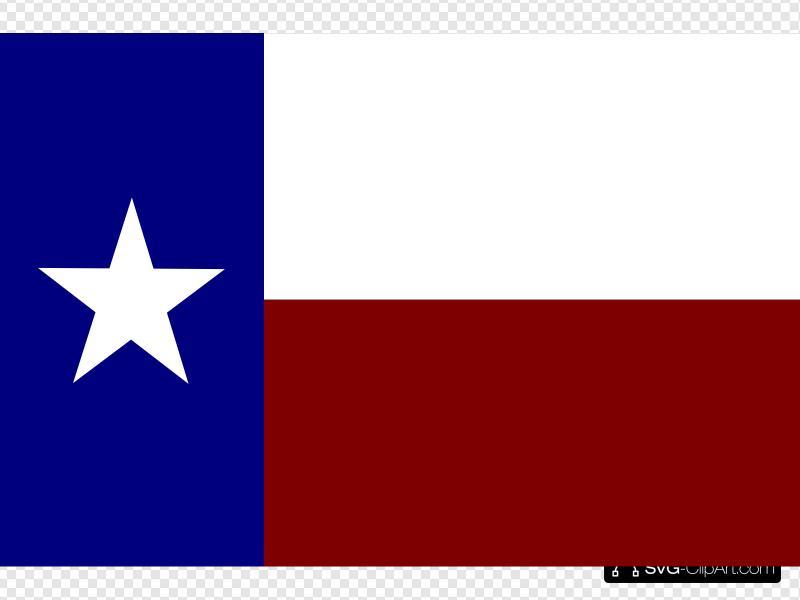 Texas clipart border clip freeuse library Texas Flag With Border Clip art, Icon and SVG - SVG Clipart clip freeuse library