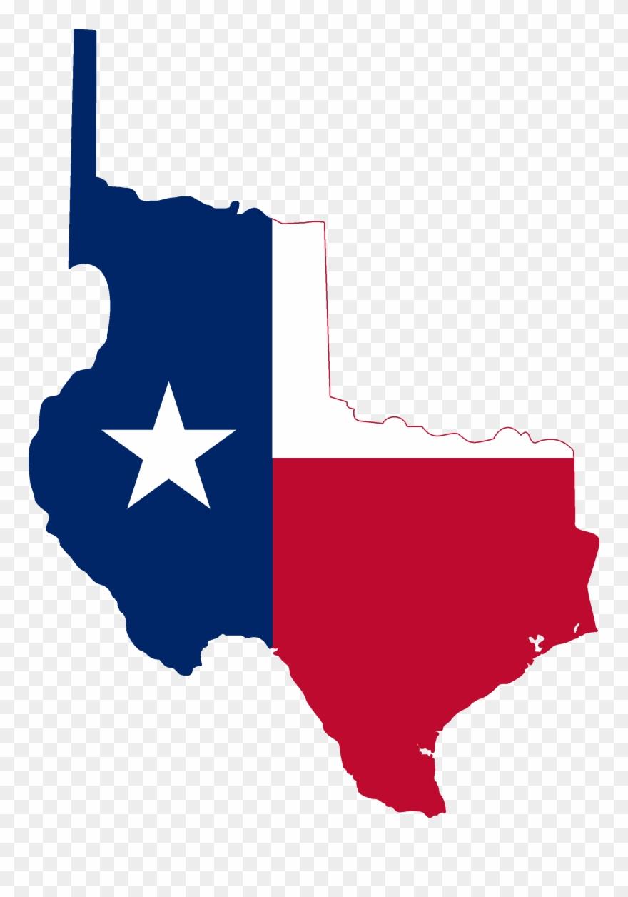 Texas flag clipart jpg stock Republic Of Texas Flag Map Clipart (#505517) - PinClipart jpg stock