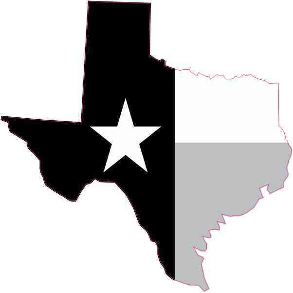 Football Logo Design: Library Of Texas Flag Clip Art Freeuse Library Black And