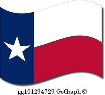 Texas flag clipart jpg black and white Texas Flag Clip Art - Royalty Free - GoGraph jpg black and white