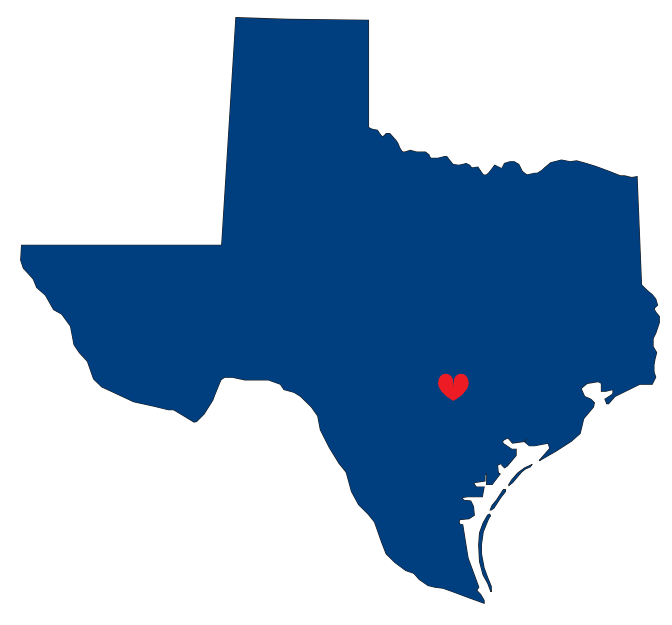 Texas heart clipart image black and white stock 28+ Collection of Houston Texas Map Clipart   High quality, free ... image black and white stock