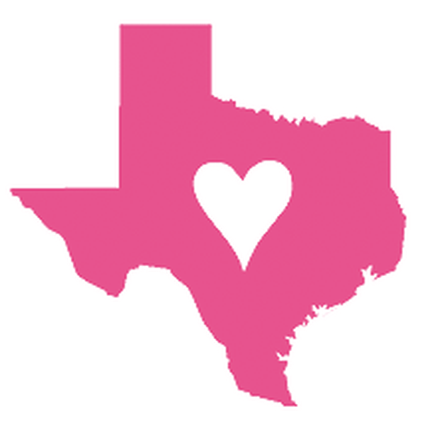Texas heart clipart vector free 10 Reasons Why I Love Texas! vector free