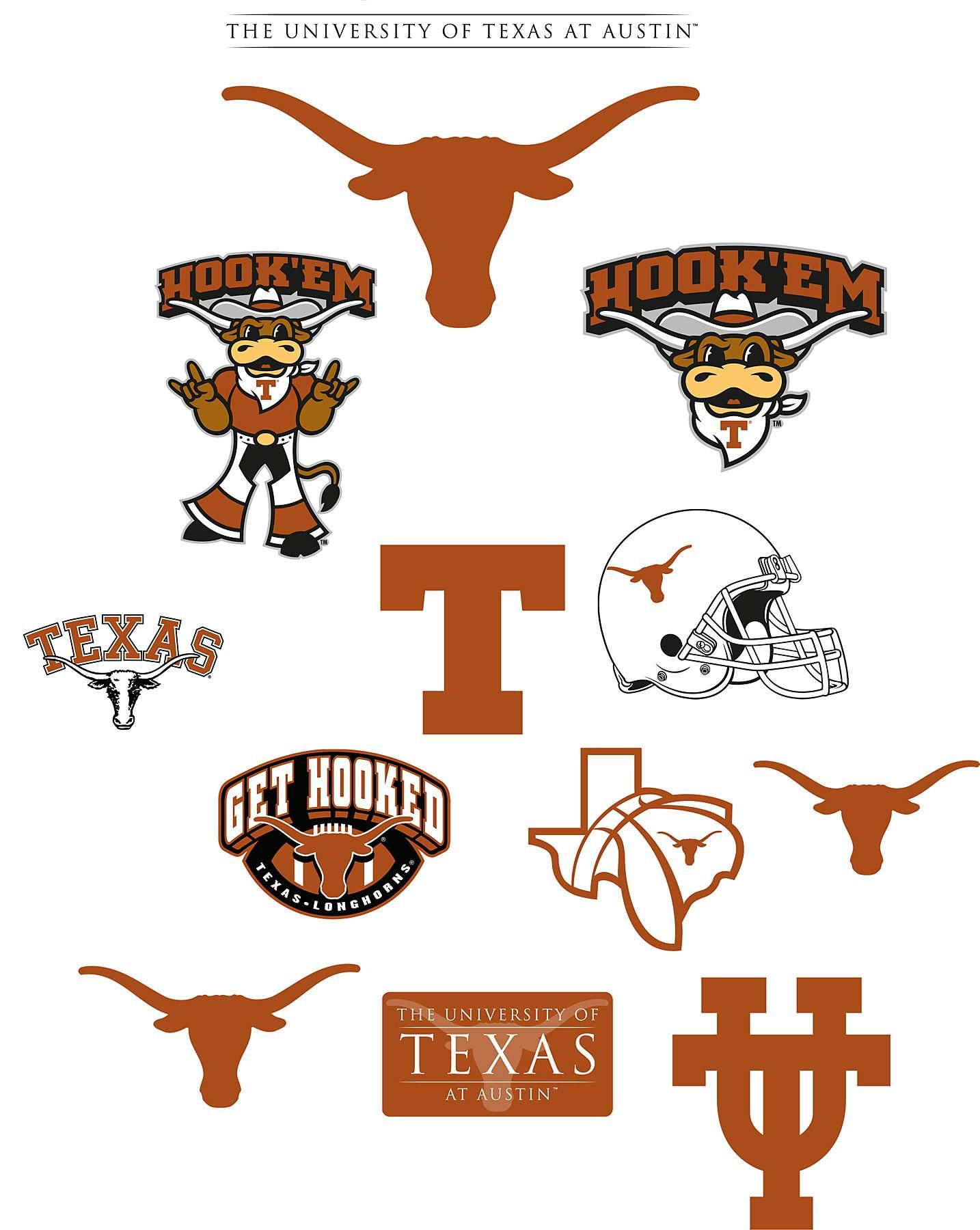 Texas longhorns logo clipart image black and white 50+ Texas Longhorns Logo Wallpapers - Download at WallpaperBro image black and white