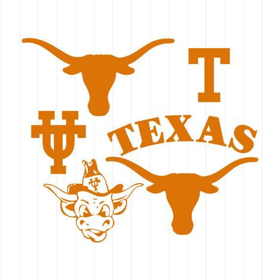 Ut austin clipart clip stock INSTANT DOWNLOAD - University of Texas Longhorns Austin Logo ... clip stock