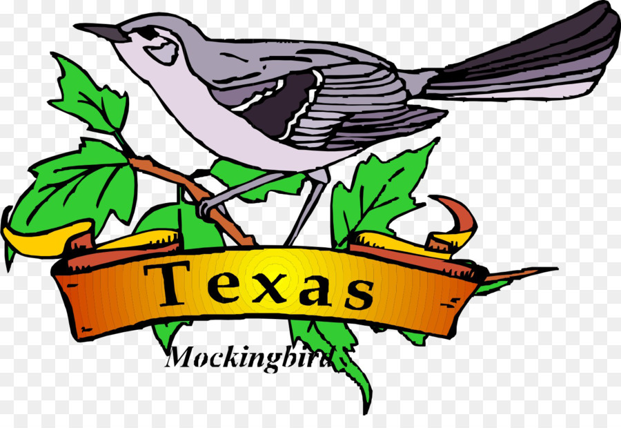 Texas state bird clipart black and white siloette jpg library stock Mockingbird Drawing png download - 1500*1003 - Free ... jpg library stock