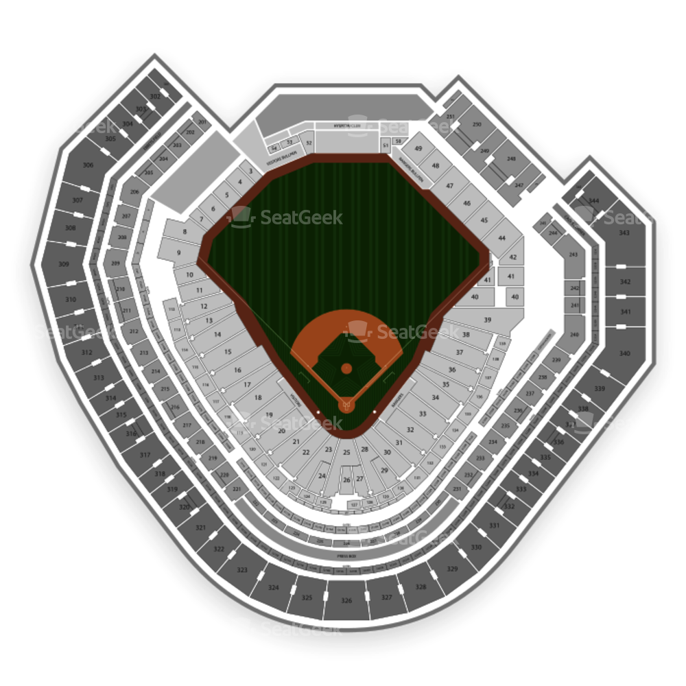 Texas rangers baseball clipart image library Texas Rangers Seating Chart & Map | SeatGeek image library