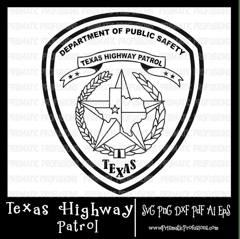 Texas safety clipart jpg library stock Texas Highway Patrol SVG, Texas Highway Patrol Clipart jpg library stock