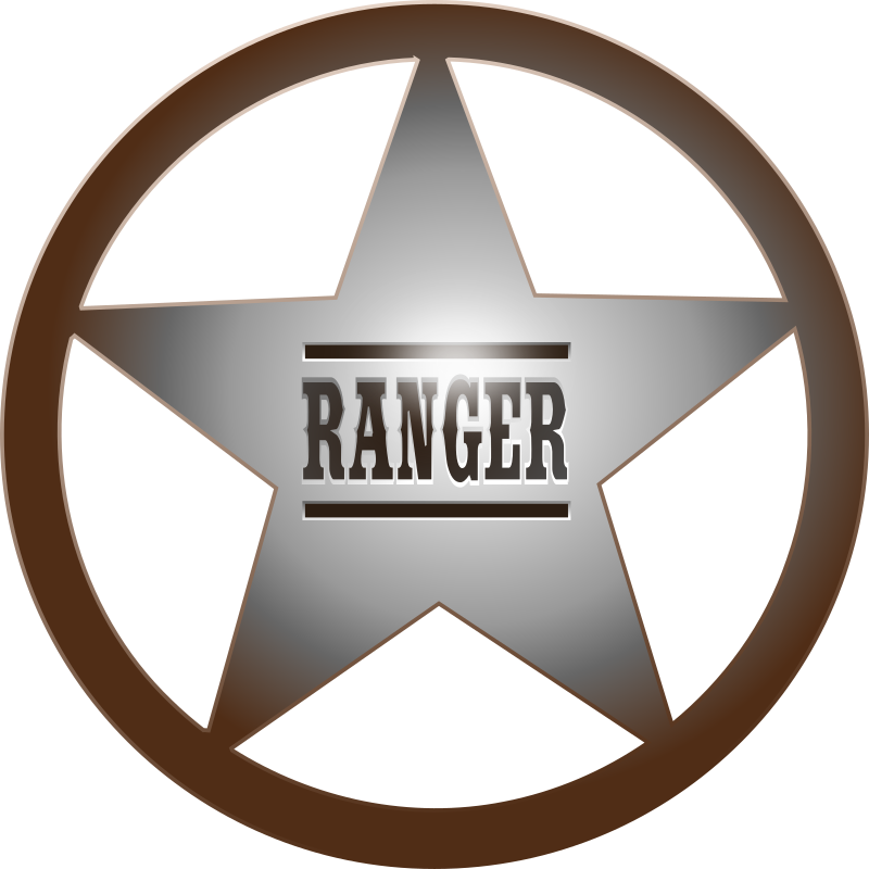 Texas star clipart png picture free library Clipart - (Texas) Ranger Star picture free library
