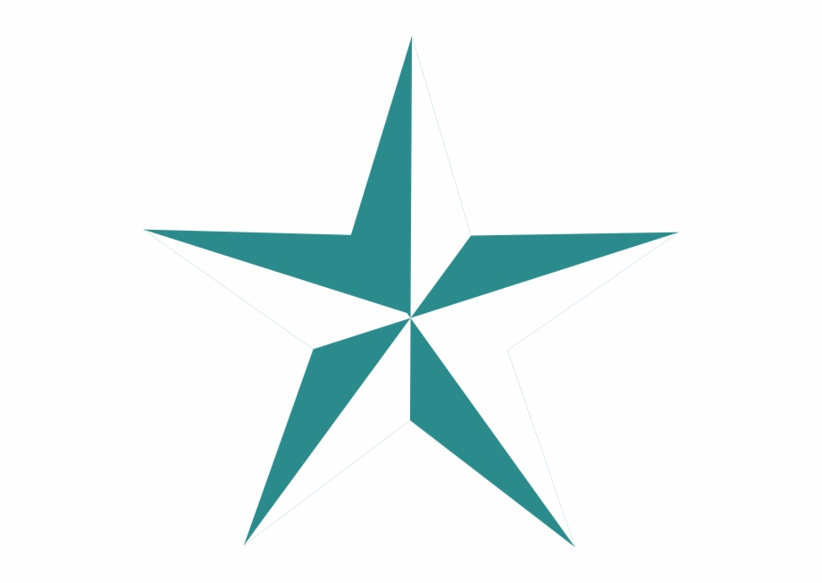Texas star clipart vector svg black and white library Teal Stars Clipart - Texas Star Vector Free PNG Images ... svg black and white library