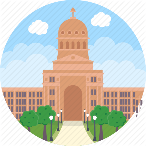 Texas state capitol clipart clipart free download \'World Cities 1\' by Creative Stall clipart free download