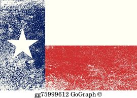 Vintage texas free clipart black and white library Texas State Flag Clip Art - Royalty Free - GoGraph black and white library