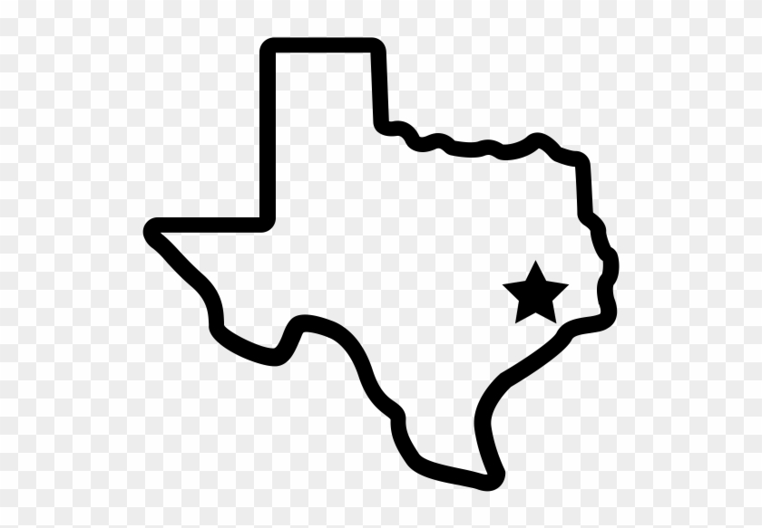 Texas state quarter clipart png clipart black and white download Transparent Texas State Outline Logo Png Transparent - Small ... clipart black and white download