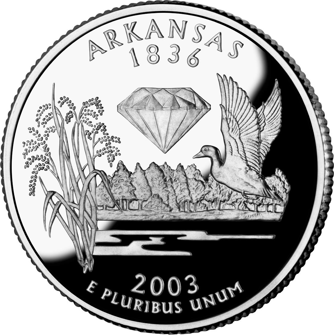 Texas state quarter clipart png clip art stock Arkansas State Quarter | 50 State Quarters | State Quarters clip art stock