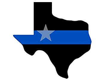 Texas trooper heart family clipart image free download American Vinyl Texas Shaped Thin Blue Line Sticker (Police cop Officer  Dallas TX) image free download