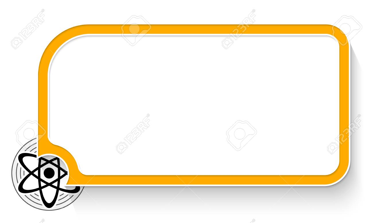 Text box pictures clipart jpg transparent download Yellow text box for your text and science symbol » Clipart ... jpg transparent download