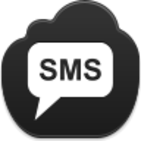 Text message clip art picture royalty free library Sms Icon | Free Images at Clker.com - vector clip art online ... picture royalty free library