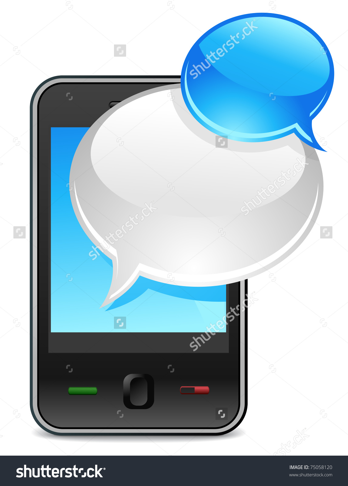 Text message clipart png freeuse library Mobile phone text clipart - ClipartFest png freeuse library