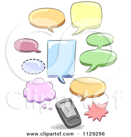 Text message clipart image freeuse Royalty-Free (RF) Text Message Clipart, Illustrations, Vector ... image freeuse