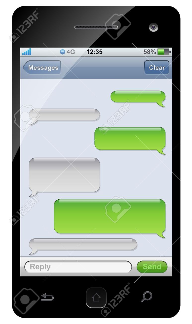 Text message clipart banner royalty free library How to add clipart to text messages - ClipartFest banner royalty free library